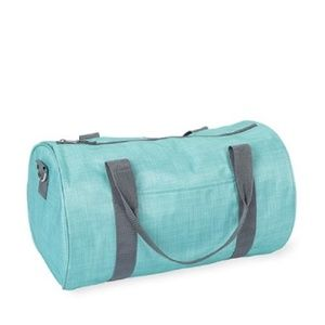 Thirty One Jr. Rec Duffle In Turquoise Cross Pop